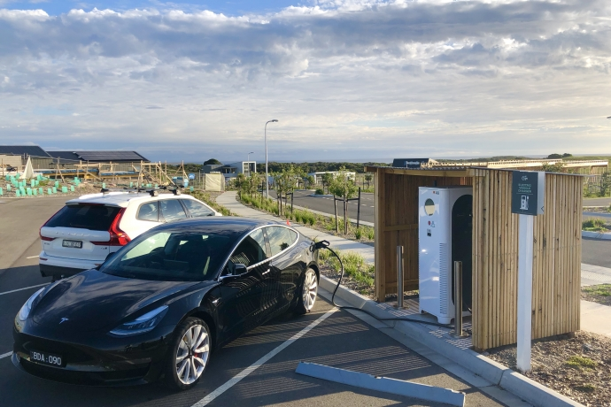 Cape EV fast charger Sunlight Boulevard The Cape